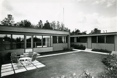 Elementtitalo, Kangasalan Asuntomessut 1972,  Enso-Talo Oy, Enso-Gutzeit Oy, keskushallinto