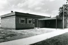 """Tiilitalo """"Jukola 74"""",  Vaasan Asuntomessut 1975, Suomen Tiiliteollisuusliitto ry"""