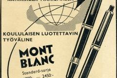 Mont Blanc -mustekynät v. 1956