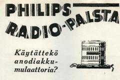 Philips radiopalsta