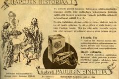 Tapojen Historiaa I
