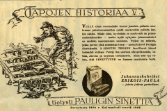 Tapojen Historiaa V