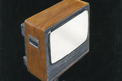 Television luonnospiirustus vuodelta 1976.