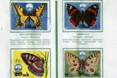 Tunnetko perhosia I
