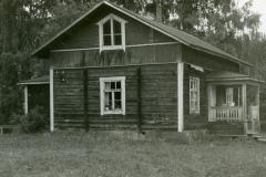 Säynätsalo, Muurame, työnjohtajan asunto, rak. v. noin 1905.