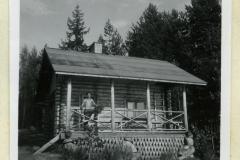 Utulan kalamajan sauna. Vuosi 1955. Enso-Gutzeit Oy, keskushallinto.
