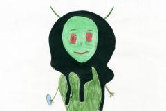 Vauva Alien