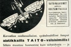 OY. Taito AB. v. 1938