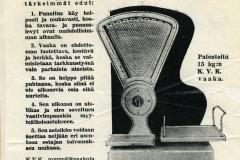 K. V. Karlsson Oy, Konetehdas 1930-luku