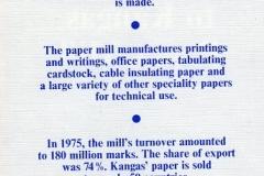 Kangas Paper Mill