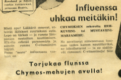 Chymos-mehut 1950-luku
