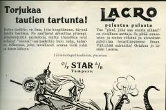 Lacro-pastillit 1930-luku