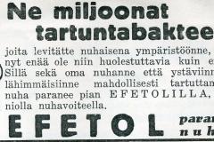 Efetol-nuhavoide 1930-luku