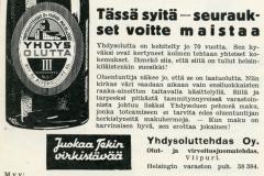 Yhdysolut v. 1934