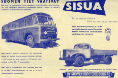 Sisu-autojen mainos