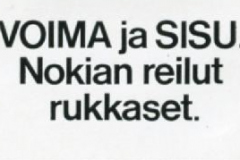 Nokian Sisu-rukkaset, v. 1973