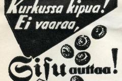 Sisu-pastillit, 1930-luku