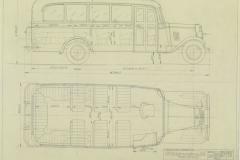 Chevrolet linja-auto vuodelta 1934