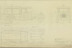 Minerva ruumisauton kori vuodelta 1933