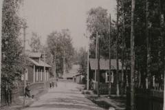 Pölläkkälän kylänäkymä
