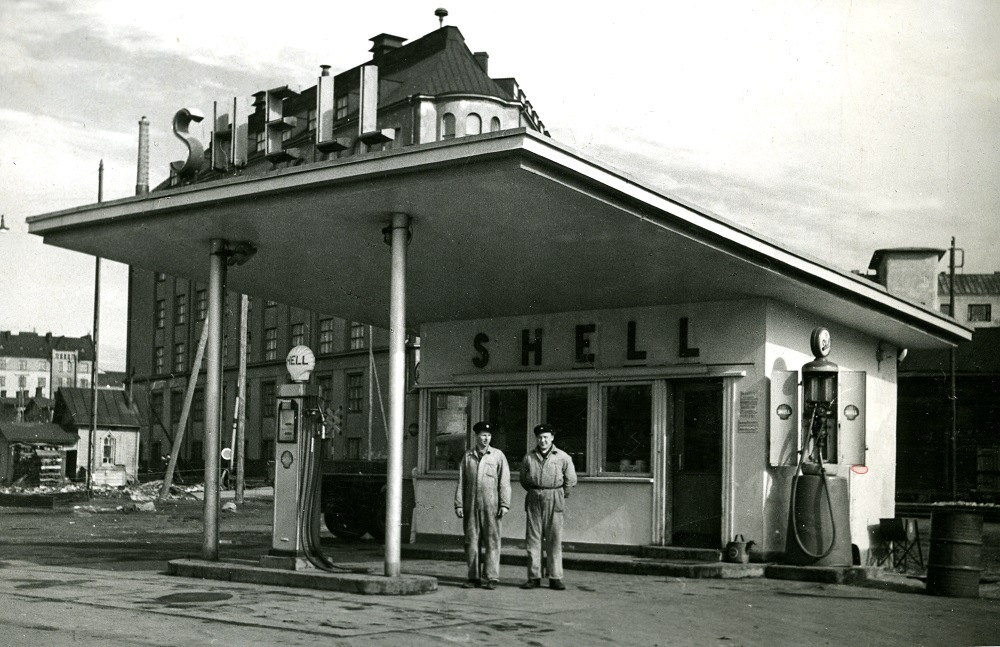 Helsinki-Ruoholahti, rakennettu 1934