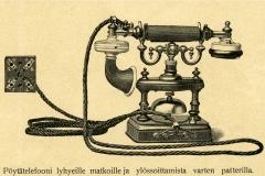 Pöytätelefooni v. 1900, LM Ericsson