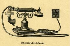 Päällikkötelefooni v. 1900, LM Ericsson