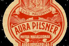 Aura Pilsner, Aura Bryggeri Ab, Turku