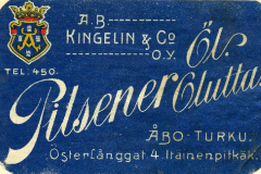 Pilsener Olutta, A.B. Kingelin & Co O.Y.