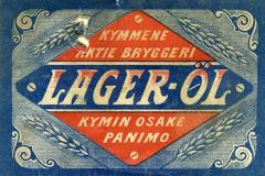 Lager-Öl, Kymin Osake Panimo