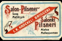 Salonki Pilsneri, J.K. Kröckel