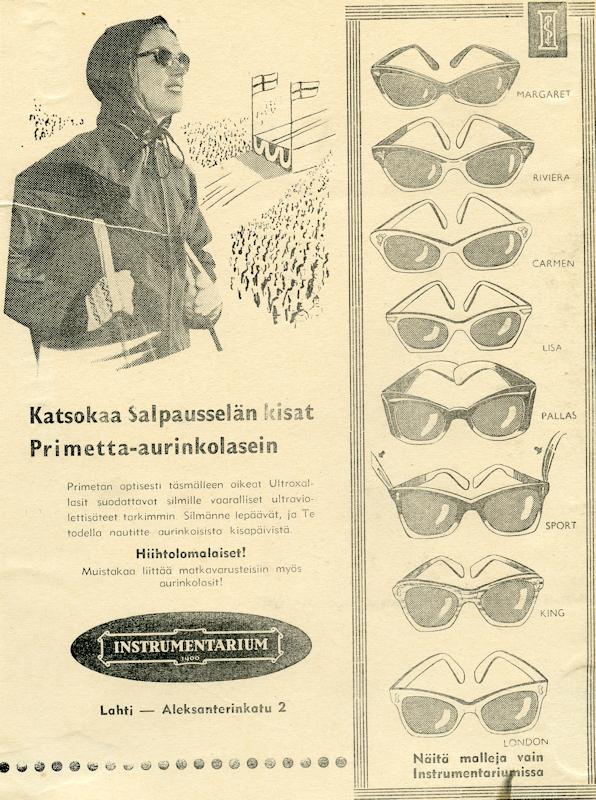 Vanhat Silmälasit Instrumentarium