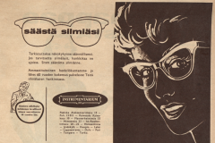 Silmalasimainos (1958-59)