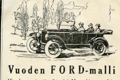 Vuoden Ford-malli
