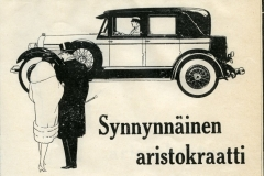 Ford Lincoln – aristokraatti