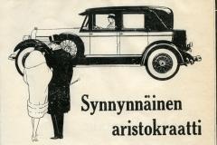 Ford Lincoln – aristokraatti