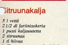 Sitruunakalja