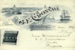 Kirje 27.3.1899