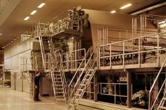 Tervakoski Oy:n paperikone, 1970-1980-luku