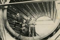 Kuorimon rumpu Inkeroisten kartonkitehtaalla, 1930-1940-luvulla