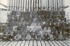 W. Gutzeitin Norjan sahan työntekijät, Kotka v. 1896