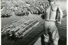Nippujen pudotus, v. 1947, Savitaipale, Enso-Gutzeit Oy