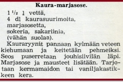 Kaura-marjasose