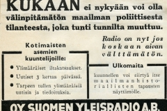 Radio on nyt jos koskaan aivan välttämätön