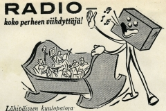 Radio - koko perheen viihdyttäjä