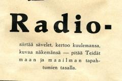 Radio siirtää sävelet