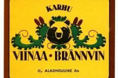 Karhu-viinaa