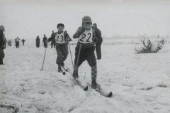 Lasten hiihtokilpailut v. 1954