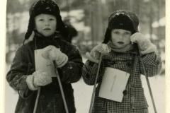 Pankakosken tehtaan talvikisat v. 1952