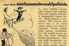 ...sanoi isäntä Maailmanmestaruuskilpailuista v. 1938